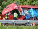 Unfall am Gotthardtunnel