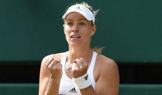 Angelique Kerber in Wimbledon. (Foto)