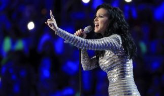 Katy Perry nimmt am Parteitag der US-Demokraten teil. (Foto)