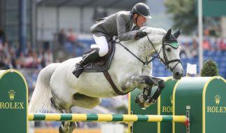 Ludger Beerbaum ist einer von 16 deutschen Reitern, die zu den Olympischen Spielen nach Rio gereist sind. (Foto)
