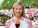 Andrea Kiewel moderiert den ZDF Fernsehgarten. (Foto)