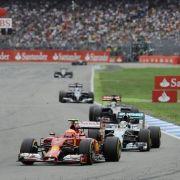Sieger Hamilton vermiest Rosberg seinen Heim-Grand-Prix (Foto)