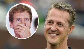 Sebastian Vettel bangt um Michael Schumacher. (Foto)