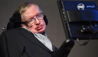 Der britische Physiker Stephen Hawking leidet unter ALS. (Foto)