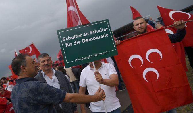 Die Organisatoren haben die demokratischen Absichten der Demo betont.