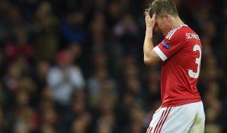 Bei Manchester United auf den Abstellgleis: Bastian Schweinsteiger. (Foto)