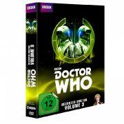 Die dritte DVD-Box zum sechsten Doctor ist aktuell im Handel erhältlich.