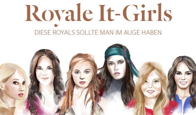 Die royalen Damen von heute verpassen dem verstaubten königlichen Image einen Dämpfer und bringen neuen Glanz ins Königreich. (Foto)