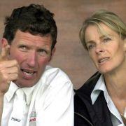 Ludger Beerbaum mit seiner Ex-Frau Barbara.