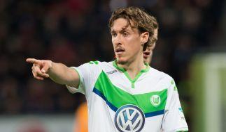 Fußball-Bundesligist Werder Bremen möchte Max Kruse von Liga-Konkurrent VfL Wolfsburg verpflichten. (Foto)