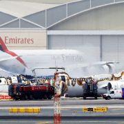 Emirates-Boeing geht in Flammen auf - 2 Deutsche an Bord (Foto)
