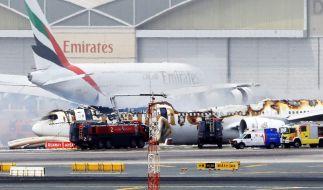 Der Unfall einer Emirates-Boeing in Dubai endete glimpflich. (Foto)