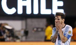 Harte Vorwürfe: Lionel Messi soll im Bett wie ein Toter sein. (Foto)
