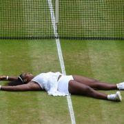 Tennis-Star Serena Williams macht in jeder Lage eine tolle Figur.