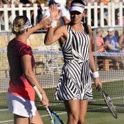 Aber keine ist auf dem Tennisplatz so schön wie die frischgebackene Ehefrau von Bastian Schweinsteiger: Ana Ivanovic.