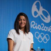 Süß! Die syrische Schwimmerin Yusra Mardini.