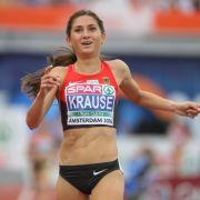 Sie startet in Rio 2016 beim 3000 Meter Hindernis-Lauf der Frauen.