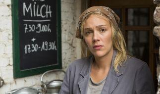 Die Milchbäuerin Klara (Alwara Höwels) fürchtet, dass sie ihren Hof verkaufen muss. (Foto)
