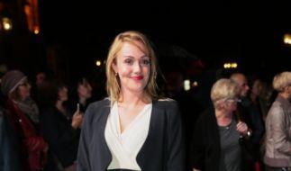 Alwara Höfels bei der Verleihung des Hessischen Film- und Kinopreises 2014. (Foto)