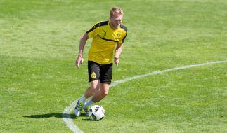 Wie sich André Schürrle für den BVB schlägt, können Sie bereits vor Beginn der Bundesliga in mehreren Testspielen sehen. (Foto)