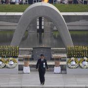 Japan trauert um die Opfer der Atombombe (Foto)