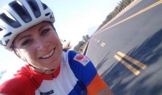 Annemiek van Vleuten hat sich beim olympischen Straßenrennen in Rio de Janeiro eine schwere Gehirnerschütterung zugezogen. (Foto)