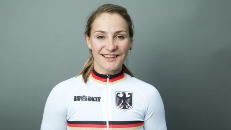 Die Radsportlerin Kristina Vogel nimmt 2016 bei den Olympischen Spielen in Rio teil.