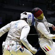 Olympia-Fechter verliert Handy im Gefecht (Foto)