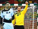 Handball-Torwart Andreas Wolff beim Auftakt gegen Schweden. (Foto)