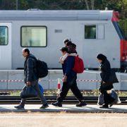 Deutschlands Grenzer lassen immer weniger Menschen einreisen (Foto)