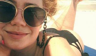 Palina Rojinski geizt auch im Urlaub nicht mit ihren Reizen. (Foto)