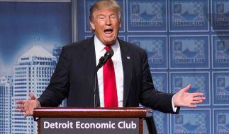 Donald Trump: Zu Schüssen auf Hillary Clinton aufgerufen? (Foto)