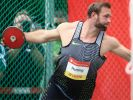 Diskuswerfer Robert Harting ist Teilnehmer bei den Olympischen Spielen 2016 in Rio. (Foto)
