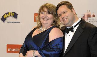 Paul Potts ist bereits seit 2003 mit seiner Ehefrau Julie-Ann verheiratet. (Foto)