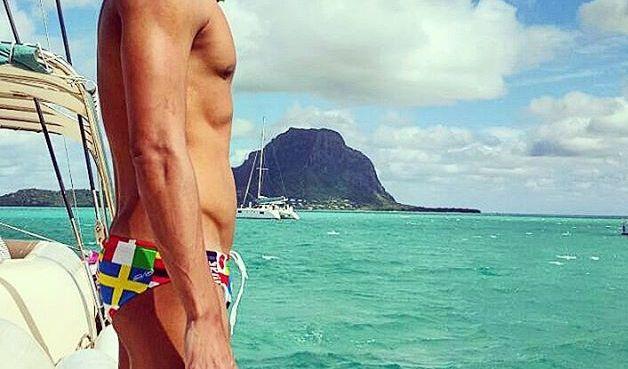 Der südafrikanische Schwimmer Chad le Cos. Wollen wir nur hoffen, dass er nicht von einem Hai verspeist wird. (Foto)