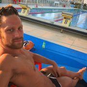 Der Italiener Luca Dotto hier mit einem sexy Dreitagebart.