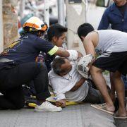 Innerhalb weniger Stunden detonierten in dem thailändischen Touristenort Hua Hin mindestens sechs Sprengsätze.