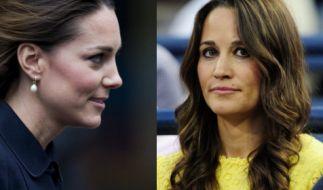 Kate Middleton und Schwester Pippa scheinen sich derzeit nicht sonderlich gut zu verstehen. (Foto)
