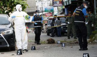 Nach den jüngsten Bombenanschlägen in Thailand hat das Auswärtige Amt die Reisewarnungen aktualisiert. (Foto)