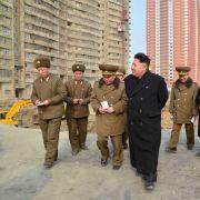 Kim Jong-un gibt Bauarbeitern Crystal Meth (Foto)