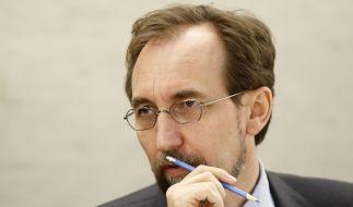 Der UN-Hochkommissar für Menschenrechte, Zeid Ra'ad Al Hussein, hat Bulgariens Umgang mit Flüchtlingen scharf kritisiert. (Foto)