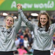 Miriam Welte und Kristina Vogel: Bronze im Bahnrad-Teamsprint
