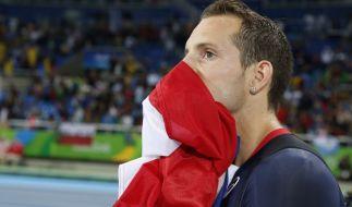 Renaud Lavillenie wurde beim Stabhochsprung Finale von den Zuschauern ausgepfiffen. (Foto)