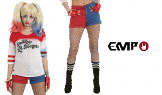 """Gewinnen Sie mit news.de ein Harley Quinn Outfit von EMP, passend zum Kinostart von """"Suicide Squad"""". (Foto)"""