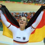 Kristina Vogel: Gold im Bahnradfahren Einzelsprint
