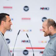 Drückt er sich vor dem WM-Kampf? Klitschko will Fury verklagen! (Foto)