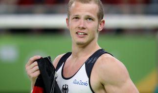 Fabian Hambüchen holte bei dem Olympischen Spielen 2016 Gold für Deutschland. (Foto)
