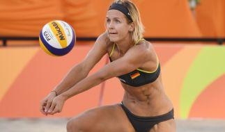 Laura Ludwig gilt als weltbeste Abwehrspielerin im Beachvolleyball. (Foto)