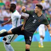 DFB-Jungs im Kampf um Gold mit Brasilien im Finale (Foto)
