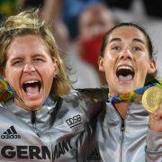 Laura Ludwig und Kira Walkenhorst: Gold im Beachvolleyball der Frauen